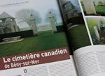 Le cimetière canadien de Bény-sur-mer